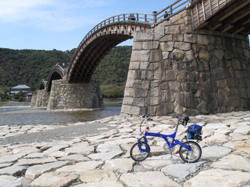錦帯橋河川敷