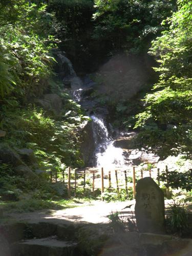 三滝参の滝