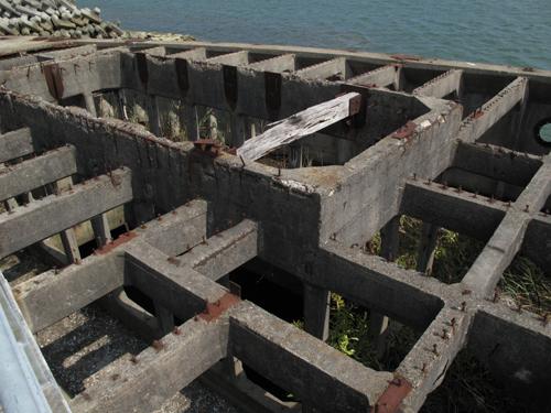 コンクリート船構造部