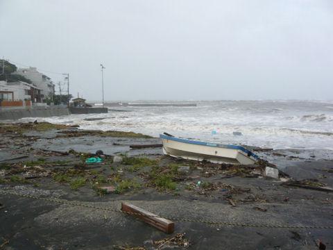 台風18号④