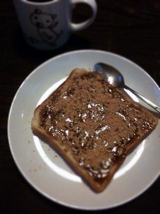 くろのはらぐろ-黒蜜きな粉トースト
