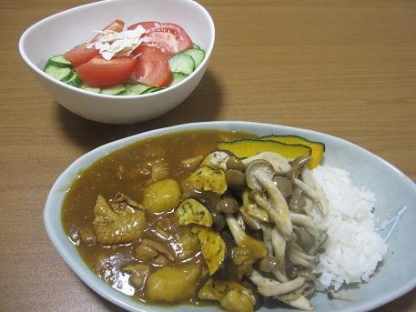 10日 夏野菜カレー