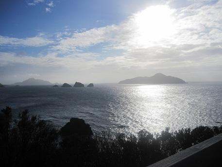 2 神の浜展望台からの景色(夕景)