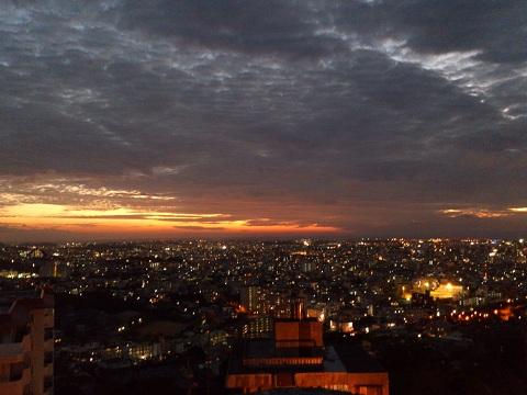 2夕景と夜景