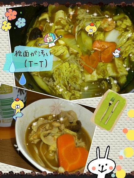 10日 カレー鍋