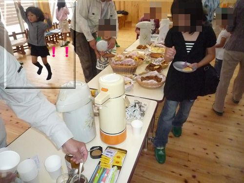 手作りお菓子と菜乃