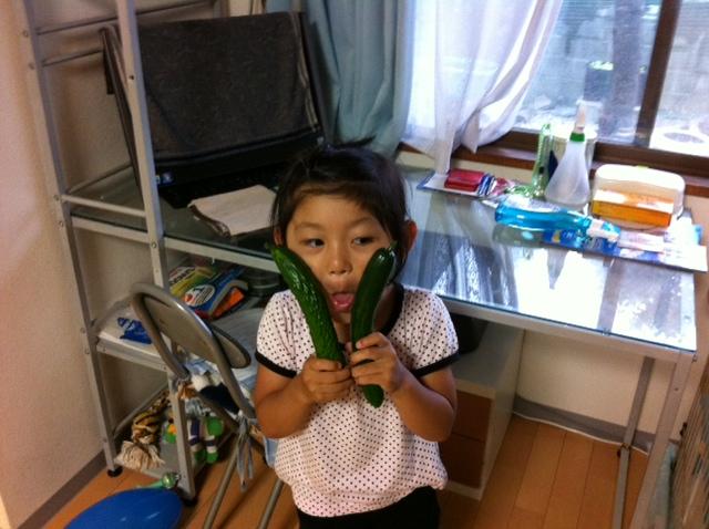 キュウリと菜乃05