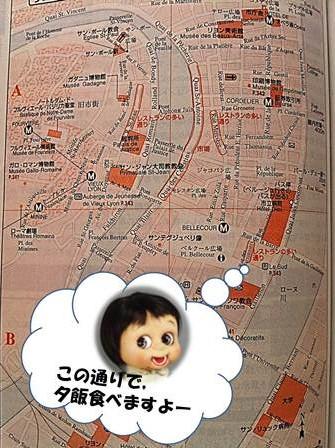 リヨンマップ1