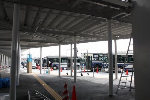 鳴子北 バスターミナル