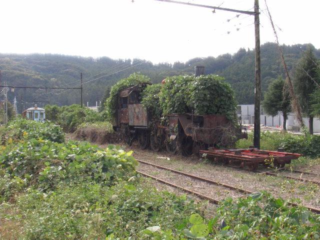 大井川鐡道新金谷駅側線14