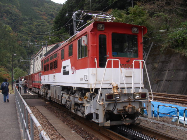 大井川鐡道井川線ED901