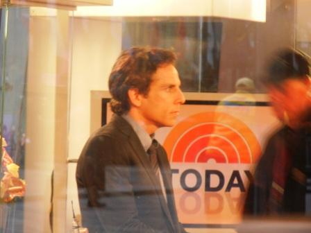Ben Stiller at NBC Today