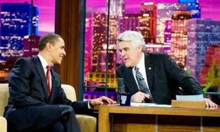 President Obama at Late Show with Jay Leno