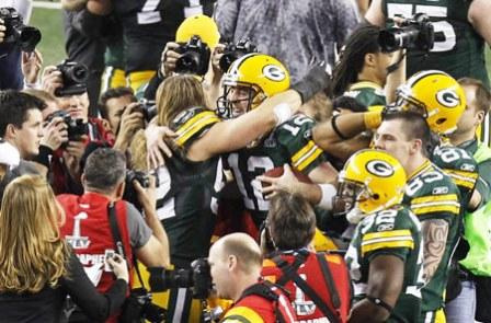 Packers Celebrates Super Bowl Victory