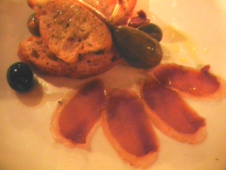 Boar and Foie Gras