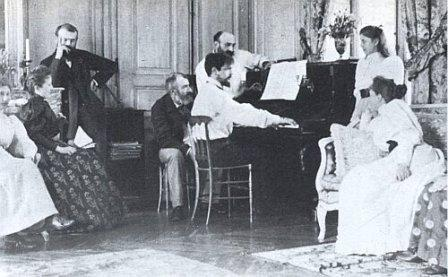Debussy chez Chausson