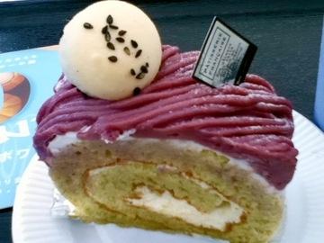 金時ロールケーキ