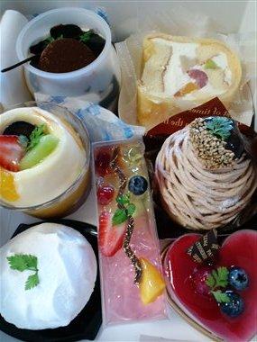 ポン・ヌフのケーキ