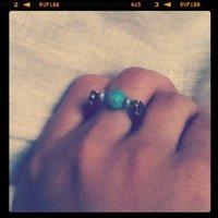 お気に入りの指輪
