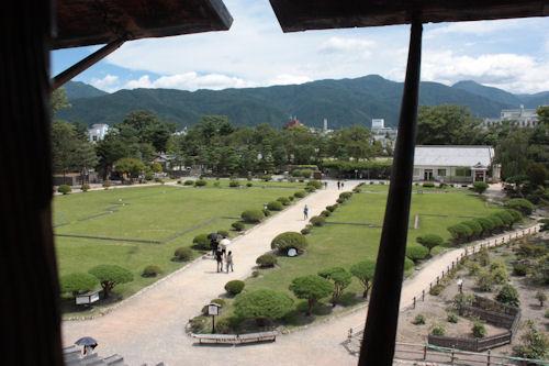 松本城 庭園