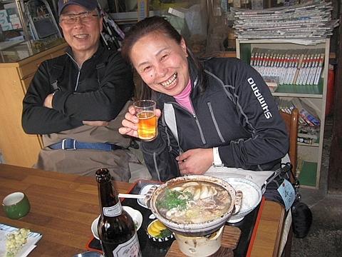 王妃様with猪鍋定食_R