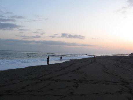 mini_日本海の夜明け