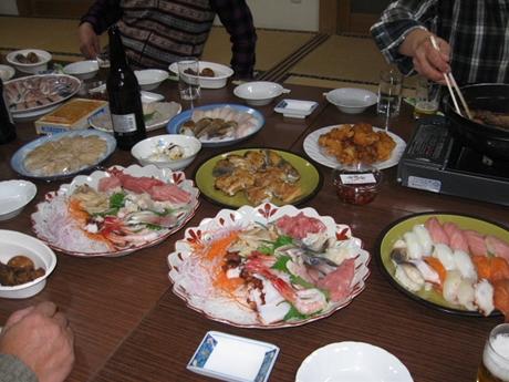 寿司、刺身、唐揚げなどなど・・_R