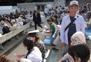 今回一番頑張った人前田先生