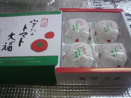 小さなトマト大福1
