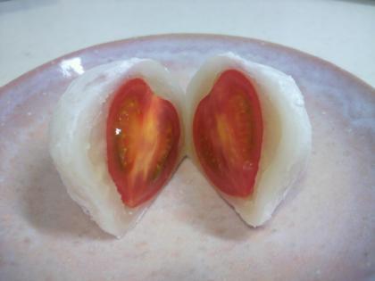 小さなトマト大福2