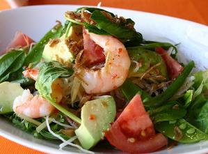アジアン風サラダ
