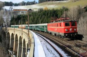 オーストリア セメリンク鉄道