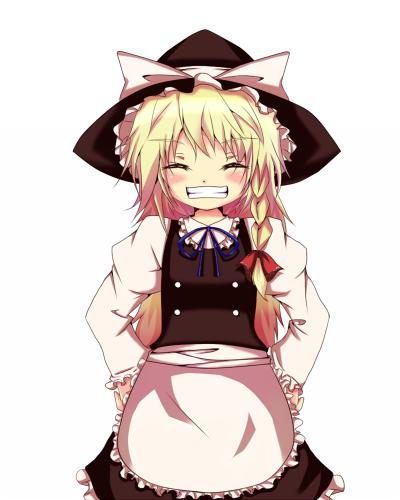 笑顔魔理沙
