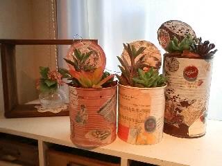 2012.10.7百時多肉植物レッスン⑨三人