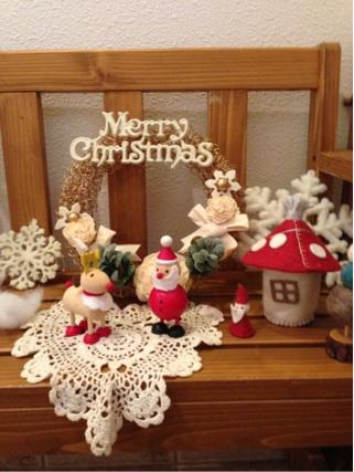 2012.12.9玄関中クリスマス④