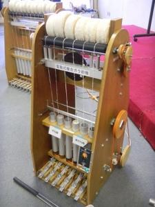 141223ガラ紡績機