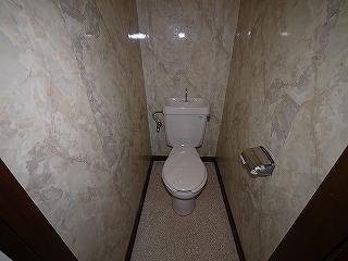 コーポロミー201トイレ