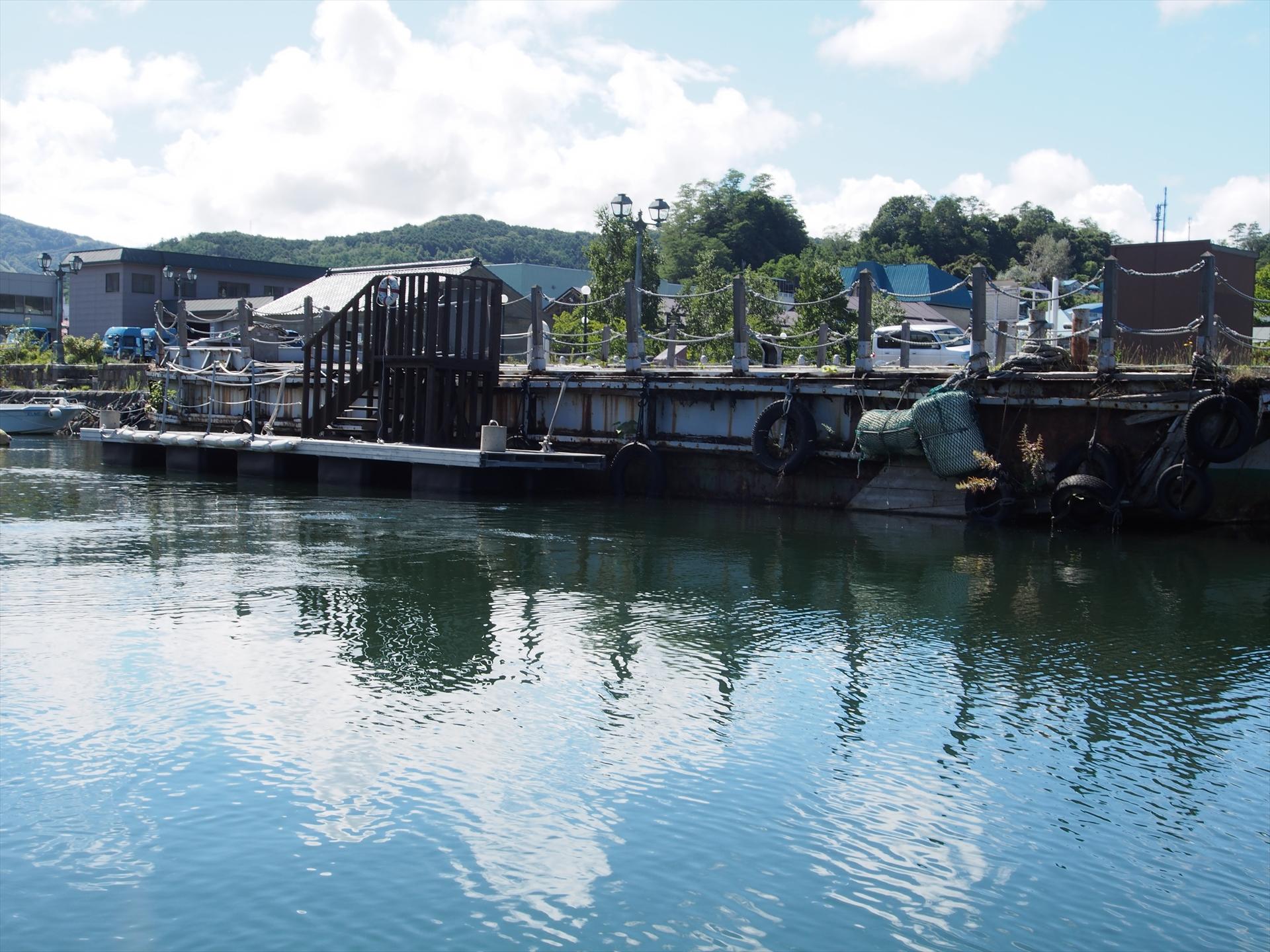 小樽運河の1コマ