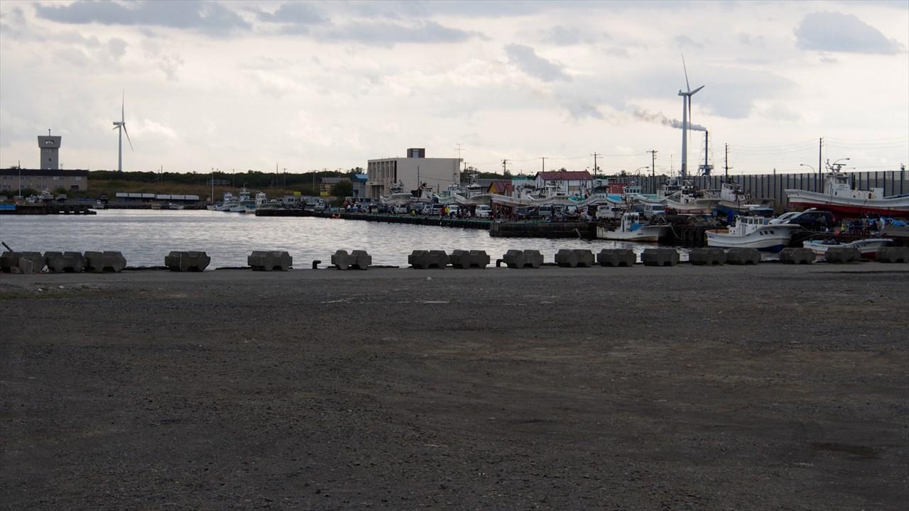 石狩港の東埠頭