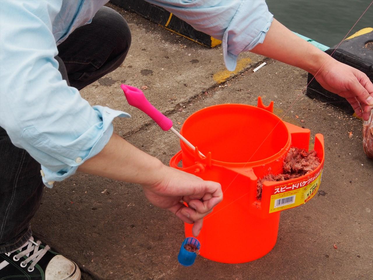 釣りに使う魚の餌