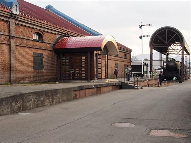 レンガ造りの北海道鉄道技術館