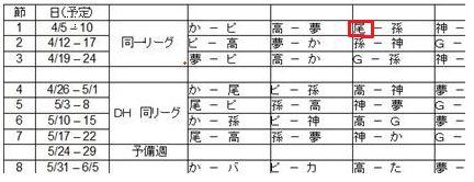 04・01 リーグ戦3