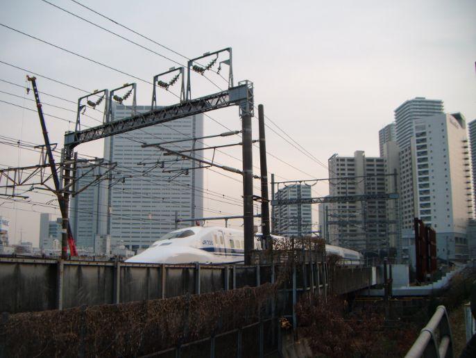 武蔵小杉新幹線
