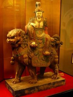 文殊菩薩像