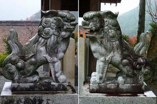 高崎神社の狛犬