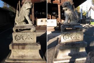 春日社の狛犬