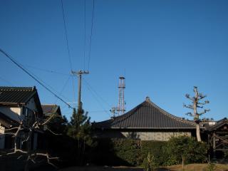 あま市七宝町下田前並の火の見櫓