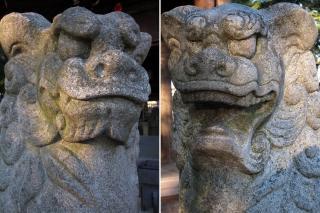 河葉神社の狛犬
