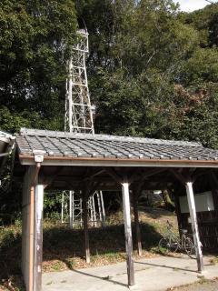 岡崎市茅原沢町新井の火の見櫓
