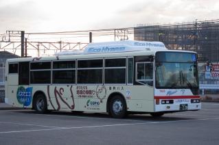 三菱ふそう エアロスター・エコハイブリッドバス